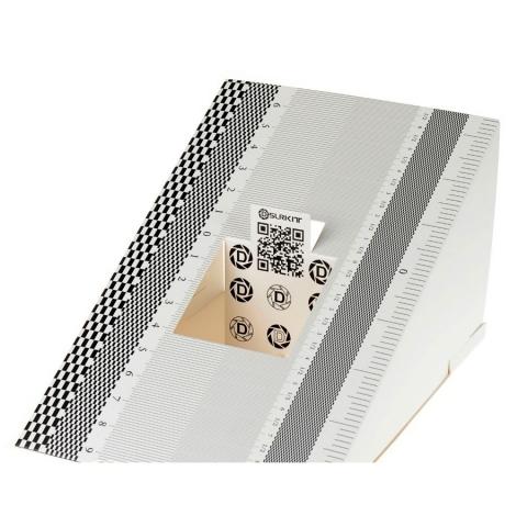 Fotokvant FM-01 складная карта для калибровки автофокуса с микрорегулятором диафрагмы