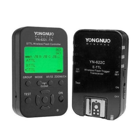 Yongnuo YN622C-kit комплект TTL-синхронизации для Canon