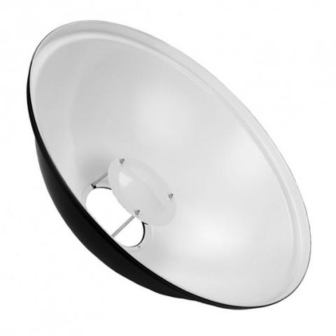 Fotokvant (4026-Б) белый софтрефлектор диаметром 70 см для моноблоков Elinchrom