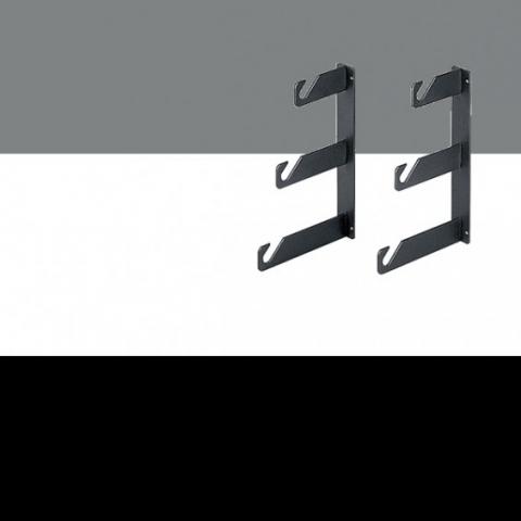 Fotokvant NVF-3074 комплект из трех фонов с настенным и потолочным креплением