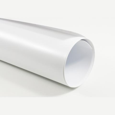 Fotokvant NVF-3077 фон пластиковый 155х400 см белый матовый