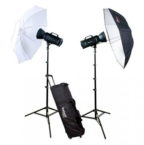 Rekam ProfiLight 750 UM KIT комплект импульсных осветителей