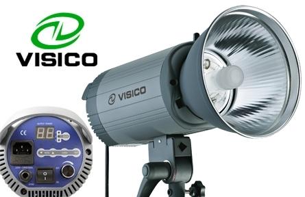 Visico VС-500HH импульсная студийная вспышка с рефлектором