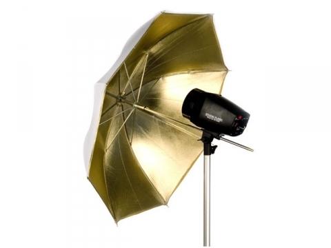 Falcon Eyes UR-32G золотой зонт-отражатель 70 см