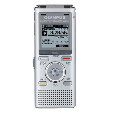 Olympus WS-831 цифровой диктофон серебристый