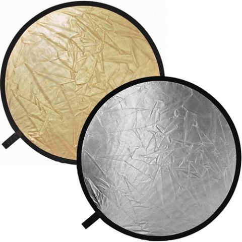 Raylab RRF-56 silver/gold светоотражатель серебряный/золотой 56 см