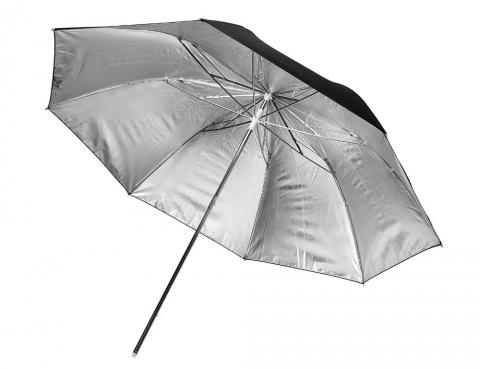 Fotokvant NVF-6886 зонт серебряный на отражение 84 см