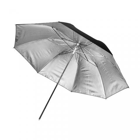 Fotokvant NVF-6887 зонт серебряный на отражение 101 см