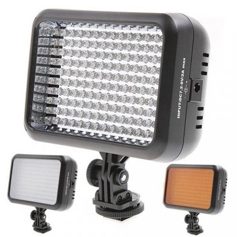 Yongnuo LED 1410 осветитель светодиодный на 1410 светодиодов для фото и видеокамер
