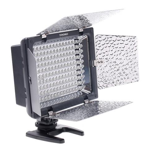 Yongnuo YN-160 II осветитель светодиодный на 160 светодиодов для фото и видеокамер с ДУ и микрофоном