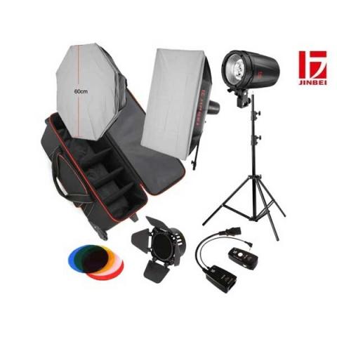 Jinbei D250 KIT 3 комплект импульсного освещения
