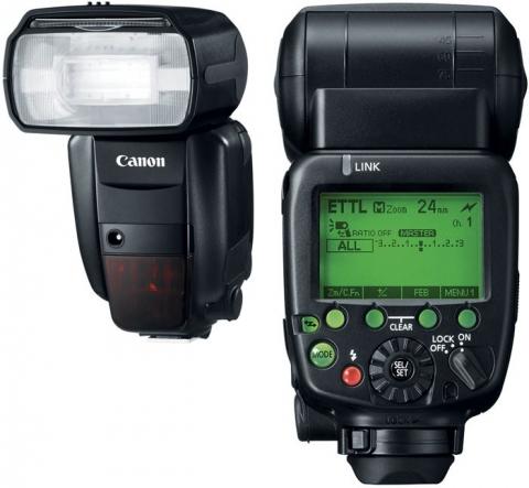 Canon Speedlite 600EX-RT вспышка накамерная