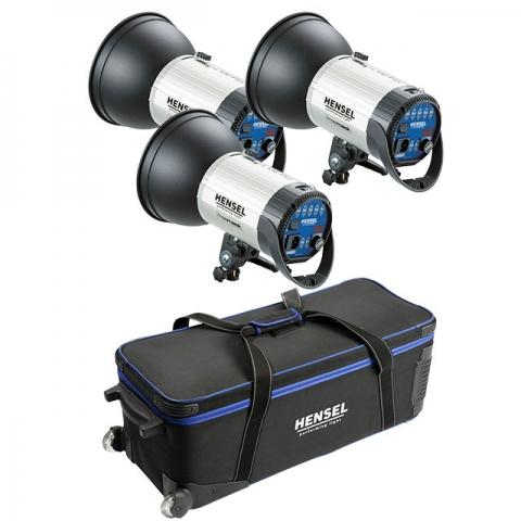 Hensel Integra 500 Plus Freemask 8815FMP4191 комплект студийных осветителей 3 шт.