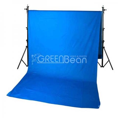 GreenBean Blue фон тканевый хромакейный 3,0х7,0 м голубой
