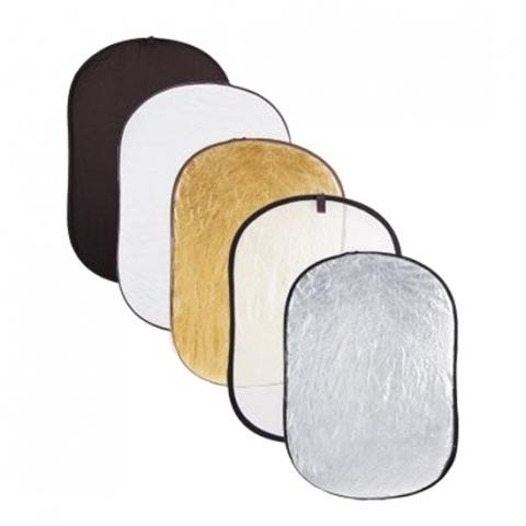 Grifon R5-7011 5 в 1 отражатель просветный/черный/белый/золотой/серебро 71-112 см
