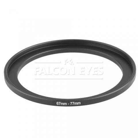 Falcon Eyes кольцо переходное для макровспышки 67-77 мм