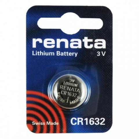 Renata CR1632 3V литиевая батарейка типа таблетка 1 шт.