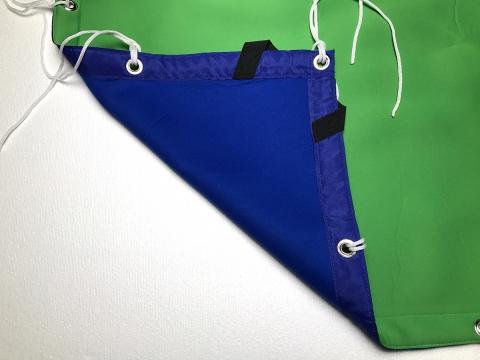 Fotokvant NVF-3223 фон хромакей сине-зеленый 1,8x1,8 м