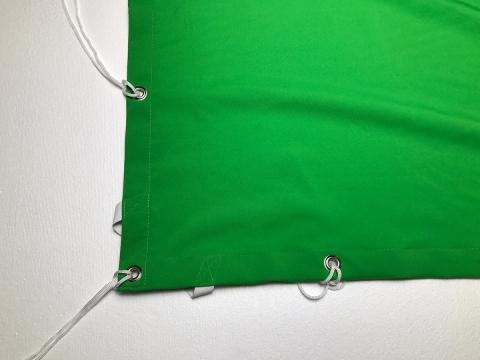 Fotokvant NVF-3229 фон хромакей полиэстеровый зеленый 3,6x3,6 м
