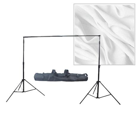 Fotokvant NVF-3233 универсальный комплект с белым фоном и системой установки