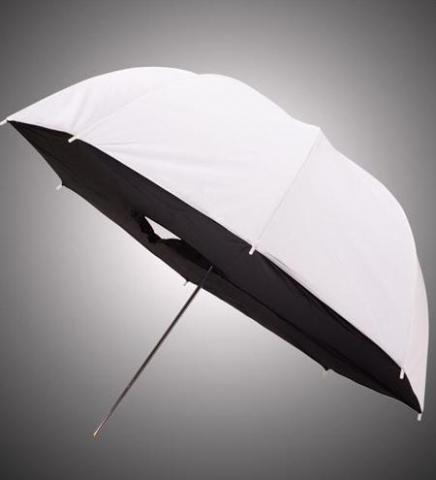 Fotokvant NVF-7295 зонт-софтбокс с белым куполом прямой 90 см