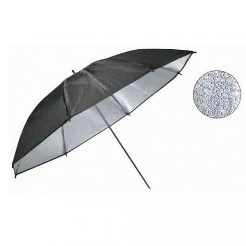Smartum Grained umbrella 110 зонт серебряный с гранулированной поверхностью отражающий 110 см