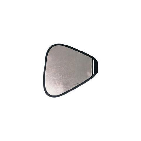 Fotokvant NVF-7300 светоотражатель 2 в 1 серебро-золото треугольный размером 60 см