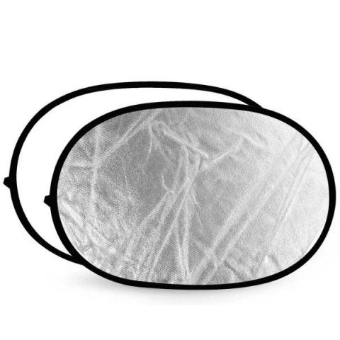 Aurora LDO 1013 S/W Lite Disc oval отражатель 100х130 см серебро-белый