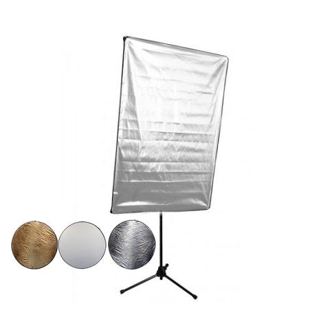Aurora LP812 SET S-G/W лайт-панель золотистый-белый 80х120 см