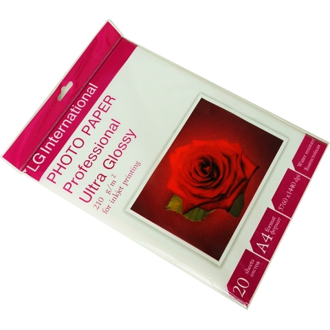 LG Photo Paper Professional Ultra Glossy 210 g/m2 бумага А4 для принтера