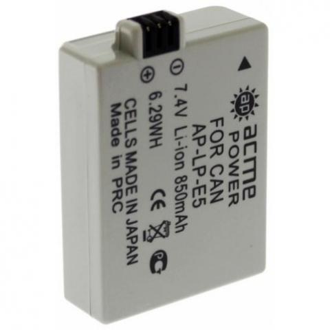 Acme Power AP-LP-E5 аккумуляторная батарея для фотокамеры системы Canon