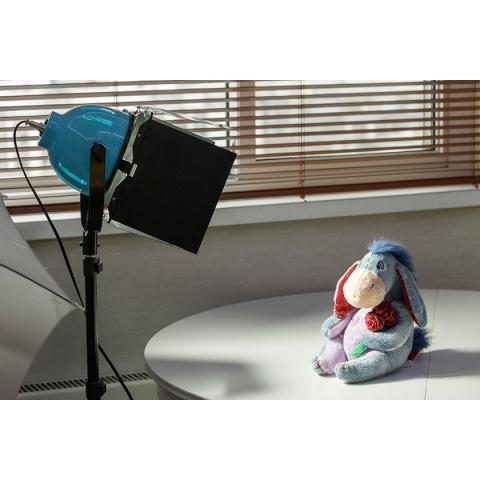 FST 55W 5500K светодиодный осветитель цвет голубой