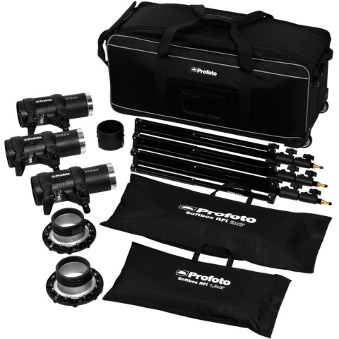 Profoto D1 Studio Kit 500/500/1000 Air w/o Air Remote комплект света без синхронизатора