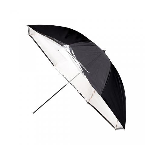 Elinchrom (26359) зонт комбинированный белый/просветной 105 см