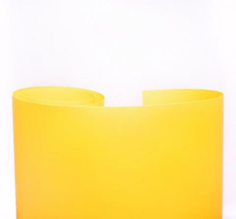 Fotokvant NVF-7888 фон пластиковый желтый матовый 1,0 х1,3 м