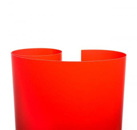 Fotokvant NVF-7891 фон пластиковый красный  0,7х1,0 м