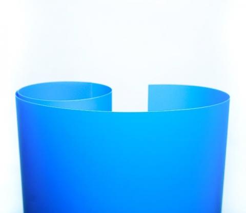 Fotokvant NVF-7893 фон пластиковый синий  0,7х1,0 м