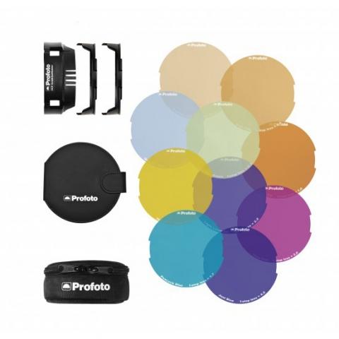 Profoto OCF Color Gel Starter Kit (101037) комплект цветных фильтров с адаптером