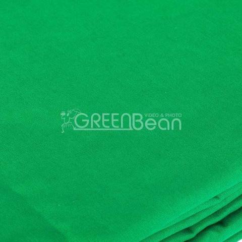 GreenBean Field 2.4 х 5.0 Green фон зеленый хромакей