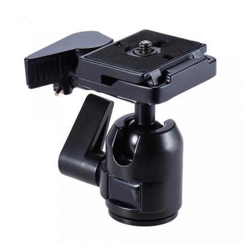 Fotokvant NVF-8047 шаровая голова с быстросъемной площадкой для Canon/Nikon/Sony