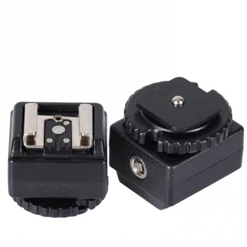 Fotokvant NVF-8080 С-N2 адаптер на горячий башмак для установки оборудования Canon/Nikon