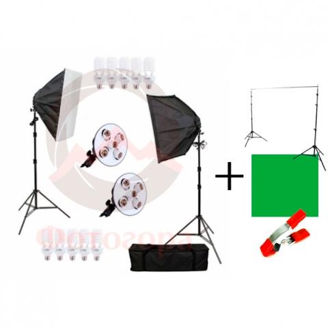 Fotokvant Videoblog-1 комплект постоянного света для съемки видео