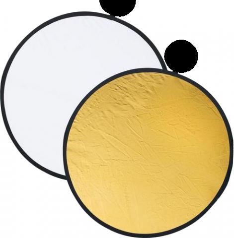 Dedolight DFGW106 Dedoflex отражатель золотой/белый 106 см