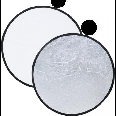 Dedolight DFSW106 Dedoflex отражатель серебряный/белый 106 см