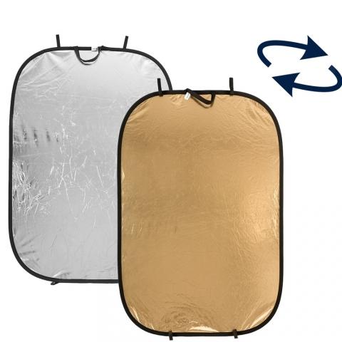 Lastolite LR7234 отражатель серебряный/золотой 120х180 см