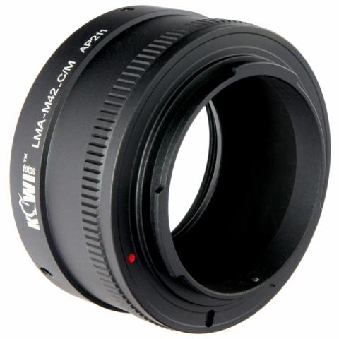 Kiwifotos LMA-M42_C/M переходное кольцо M42-Canon EF-M