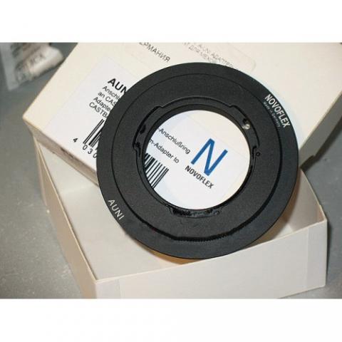 Novoflex A-UNI адаптерное кольцо A-Mount для мехов CASTBAL T/S