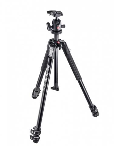 Manfrotto MK190X3-BH штатив и шаровая головка для фотокамеры