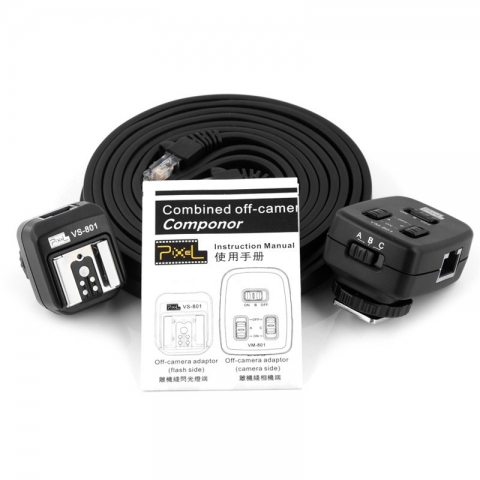 Pixel PF-801/2.0M TTL-синхрошнур комбинированный 2,0 м для Canon