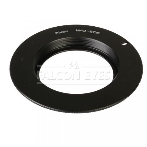 Falcon Eyes кольцо переходное M42 на Canon EOS с чипом